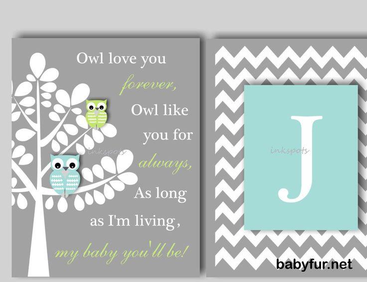 Baby Boy Nursery Art Owl Nursery Bedding Decor Owl Print Owl Wall Art Owl Love You Baby Owl Nursery Decor CHOOSE COLORS 2 Prints OW1515 - http://babyfur.net/baby-boy-nursery-art-owl-nursery-bedding-decor-owl-print-owl-wall-art-owl-love-you-baby-owl-nursery-decor-choose-colors-2-prints-ow1515.html