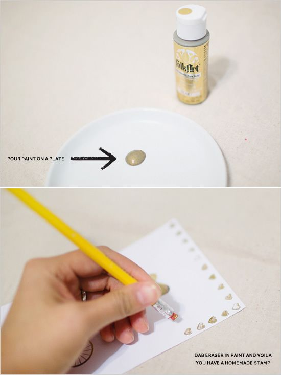 easy diy Valentine's project