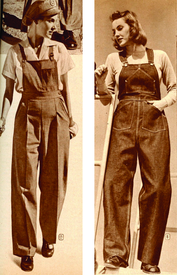 1940's Dungarees