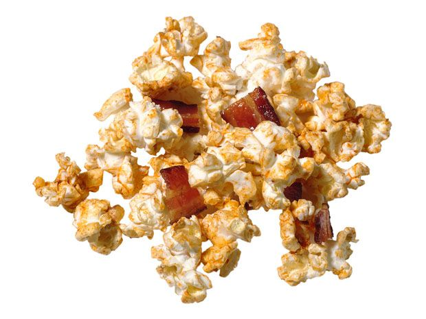 Kevin Bacon Popcorn #FNMag: Food Recipes, Food Network, Pork Recipes, Kevin Bacon Popcorn, Network Magazines, Foodnetwork Com, Yummy Food, Network Kitchens, Popcorn Recipes