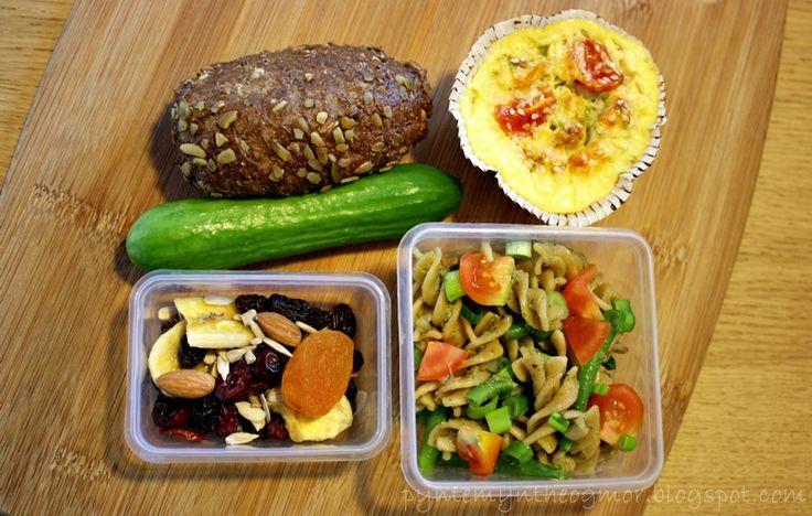 PynteMynthe og Mor: Gårsdagens aftensmad og dagens madpakke // Opskrift på æggekage muffins