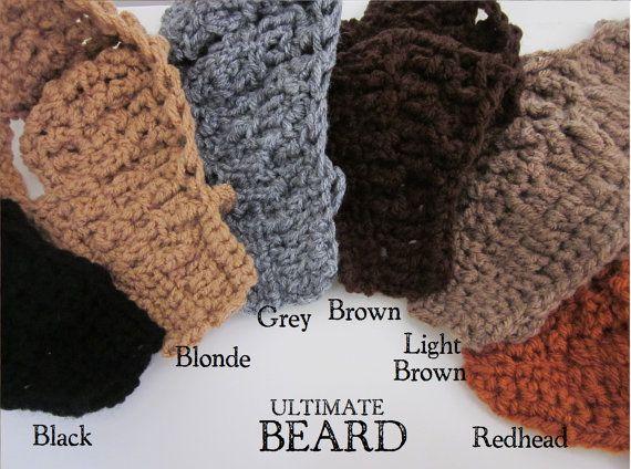 yes...a crocheted beard!