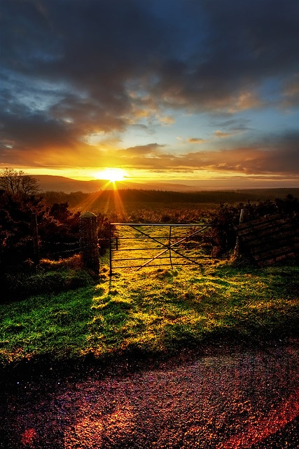 I know your works, love, service, faith, and your patience; and as for your works, the last are more than the first. [Revelation 2:19]  (Photo: The Sperrins, Northern Ireland)