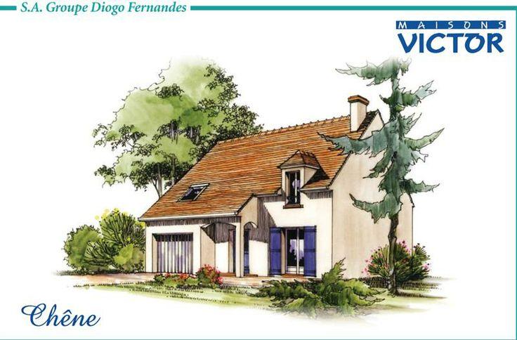 Plan Maisons Victor Modèle Chêne #diogo http://www.diogo.fr/annonces-immobilieres/annonce/9/maison-5-piegraveces/