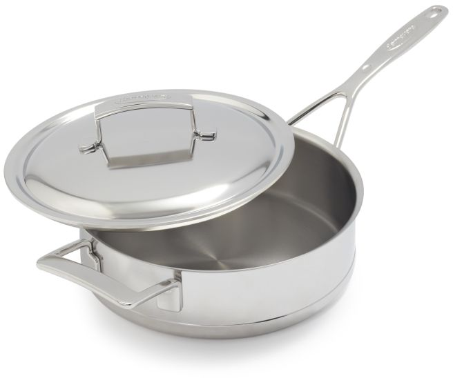 Demeyere Silver7 Covered Saute Pan