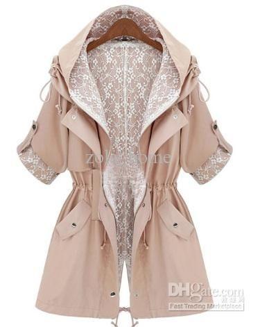 Тренч с кружевом (подборка) / Пальто и плащ / Модный сайт о стильной переделке одежды и интерьера
