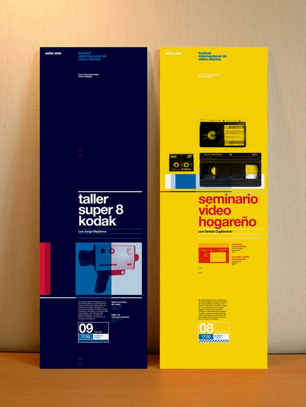 Tall posters.