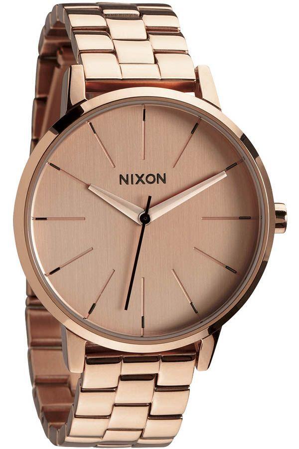 Nixon Kensington Watch in All Rose Gold - $175 #nixon #watch #watches