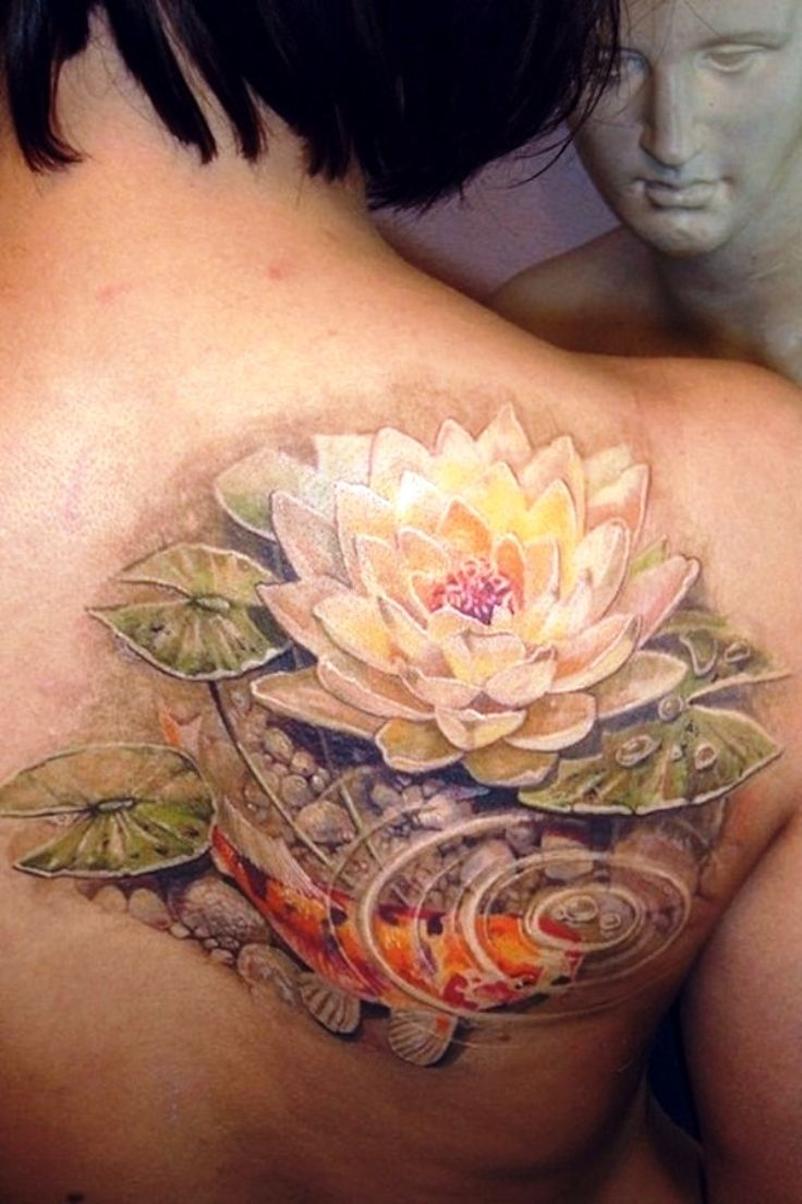 Lotus Flower Tattoo Designs Beautiful