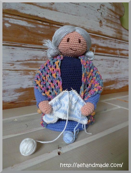 Amigurumi Grandmother - FREE Crochet Pattern / Tutorial ...