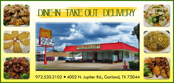 Egg Roll Cafe - Garland - TX - 75044 - Menu - Chinese - Online Food Delivery Catering in Garland