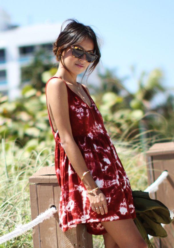 Little tie dye dress