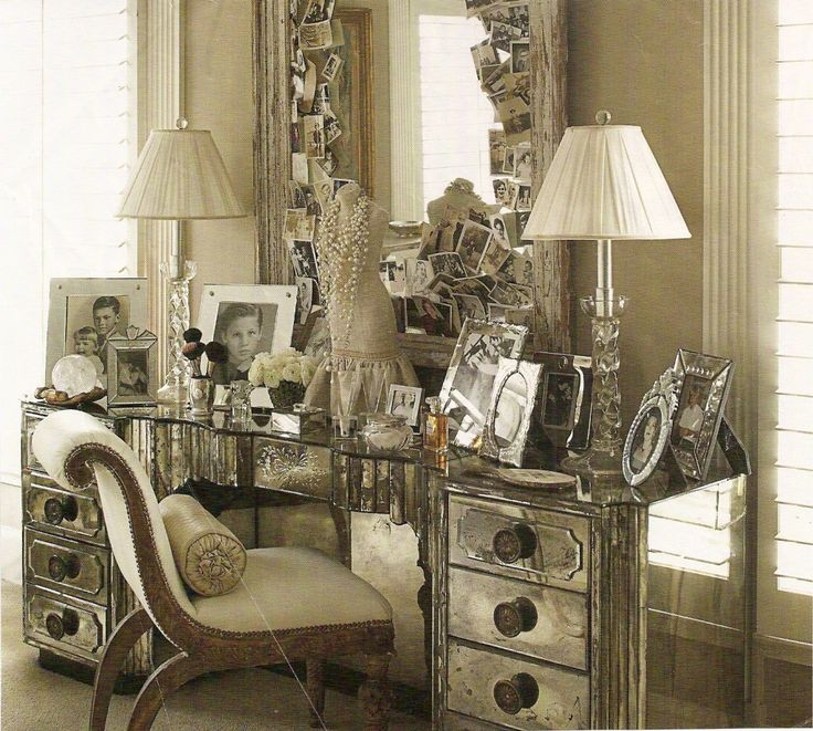 Personal Dressing Area Designed By Mimi Williams.