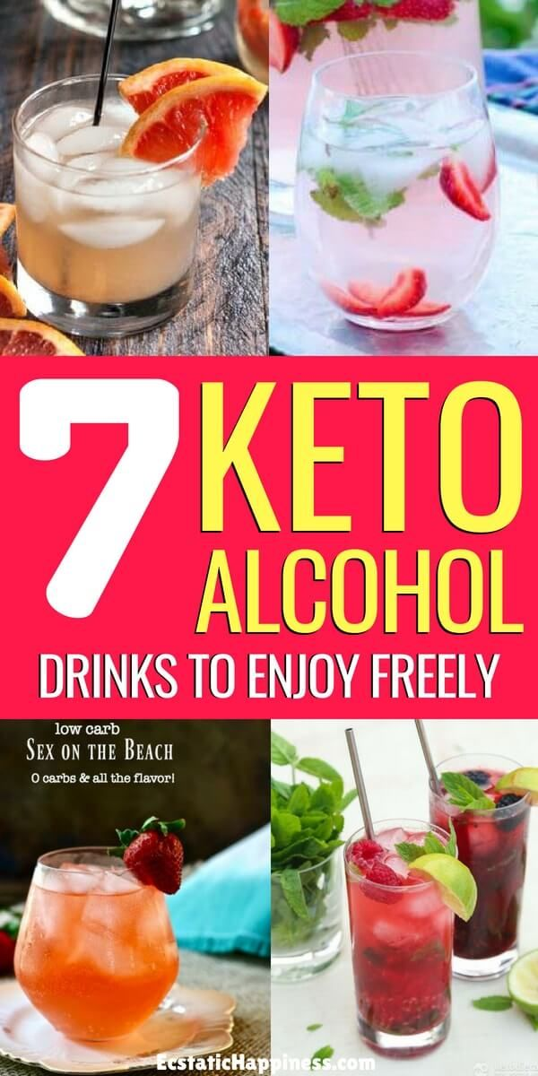 delicious drinks with low carb diet