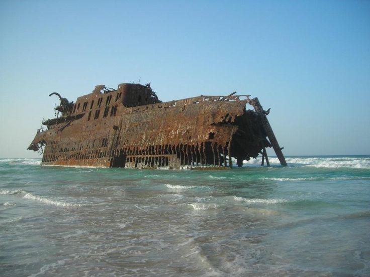 Shipwreck - Cape Verde