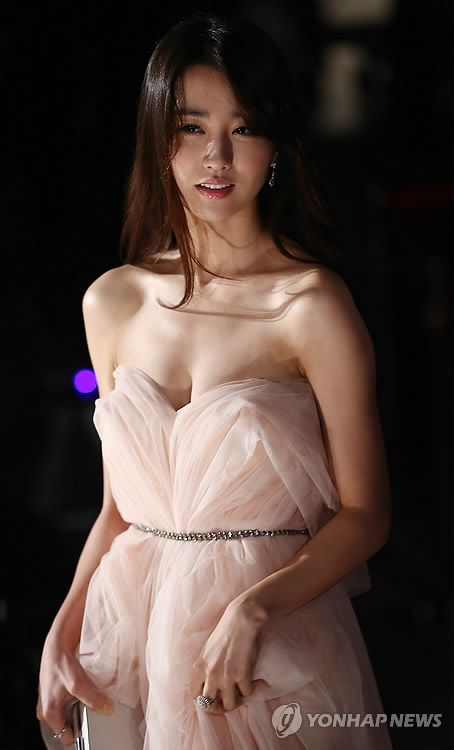 Korean actress Park Ha-sun