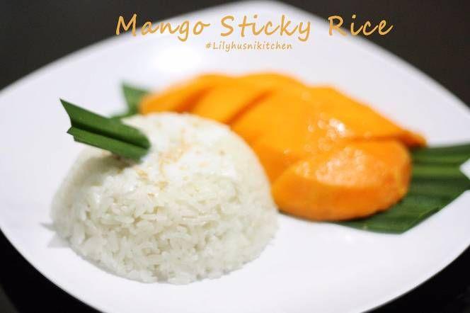 Mango Sticky Rice dessert khas Thailand