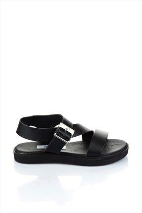 Soho Exclusive : Bot & Ayakkabı - Siyah Sandalet 3531 %60 indirimle 29,99TL ile Trendyol da