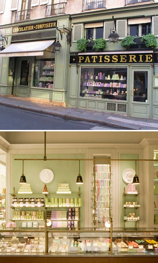 the famous laduree patisserie in paris.