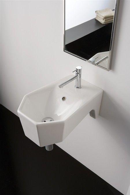 Washbasin 33x50  Type Wall-mounted washbasin SMERALDO