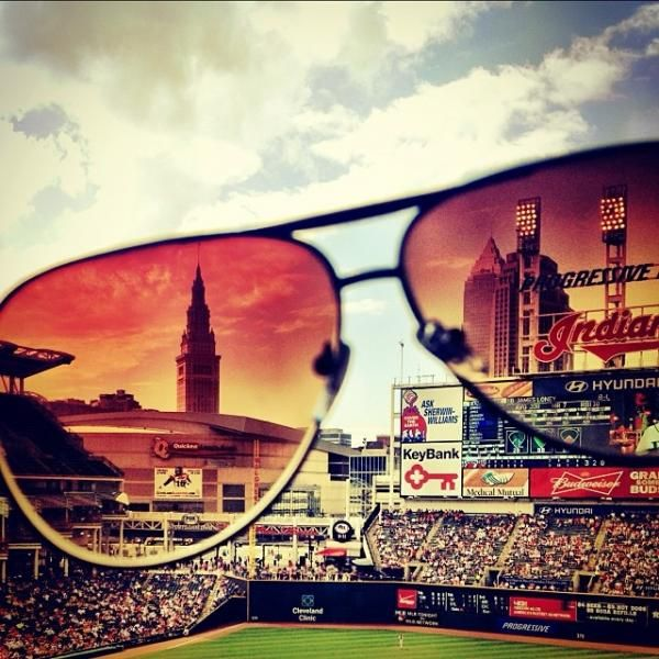 Progressive Field by @micho_show | 20 Cleveland Instagram Photos We Love | Midwest Living