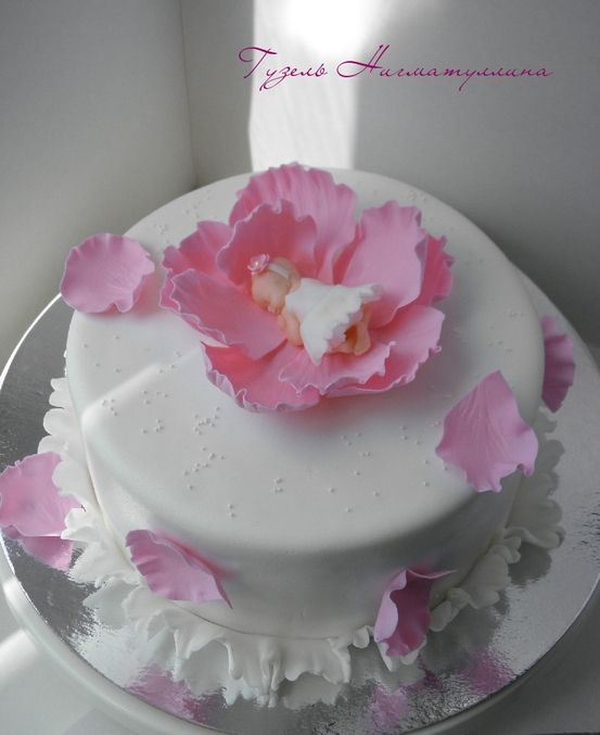 Торт для девочки с младенцем)