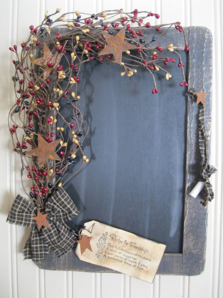 Chalkboard... https://www.facebook.com/pages/Primitive-Country-Treasures/100991083354848