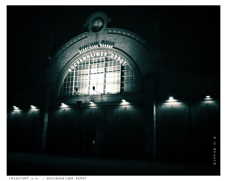 Frankfurt a.M. - Bockenheimer Depot