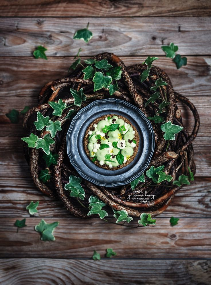 Crostatine di quinoa con vellutata di zucchine e chantilly al curry - di Giovanna Hoang #fuudly #ricette