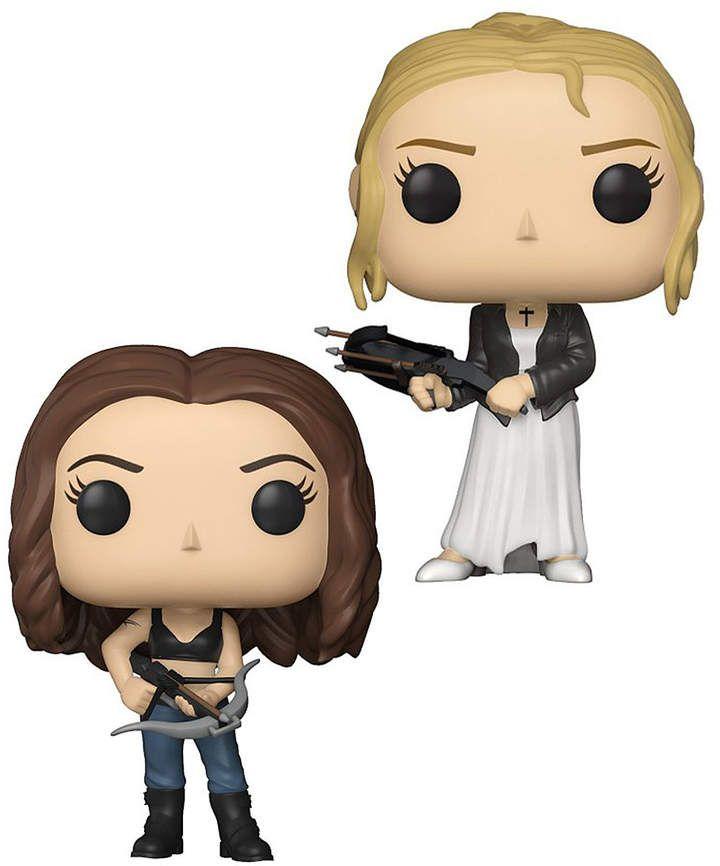 Buffy The Vampire Slayer Buffy Faith Pop Figurine Set Affiliate Buffy The Vampire Slayer Vampire Slayer Buffy