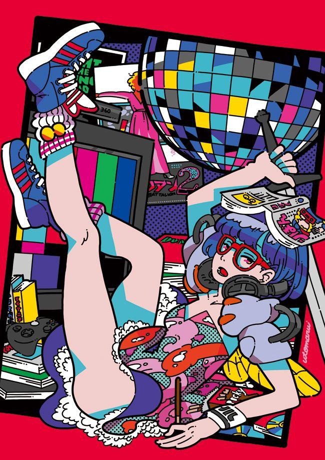 utomaru's illustration tumblr — 2013/5/6 アニつるvol.5 〜歌うアニソンパーティー〜 at なんば紅鶴