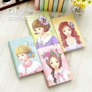 Wholesale New flower girl quality diary book / Notebook / note pad, Free shipping, $4.42-5.04/Piece | DHgate