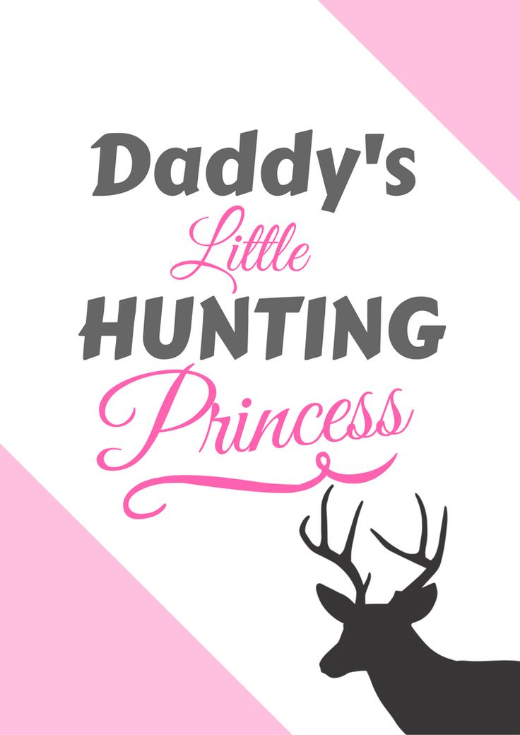 Hunting gifts for kids!   Daddy's little hunting princess
