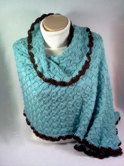 Knitting Pattern shawl Sweet Home Alabama inspired von StellasKnits