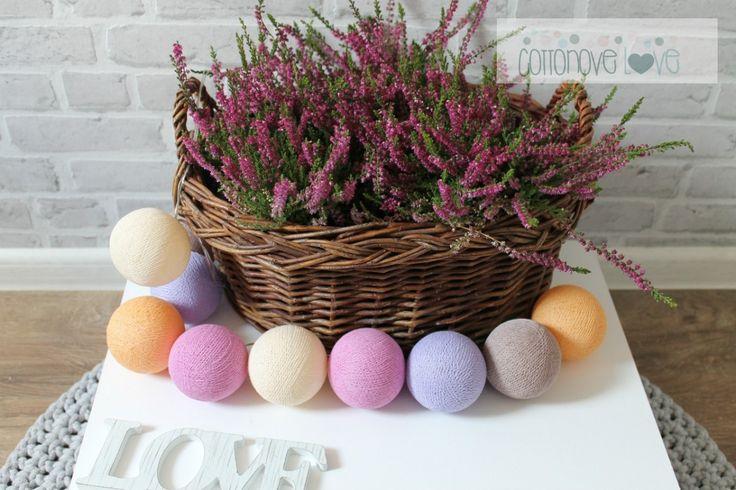 Cotton ball. Balls lighting, cotton ball lights, sklep | cottonovelove.pl > COTTON BALLS WRZOSOWE
