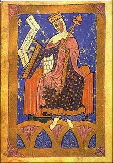 Contrajo matrimonio por segunda vez en 1079 con Constanza de Borgoña, viuda, sin hijos, del conde Hugo III de Châlon-sur-Saon, e hija de Roberto el Viejo, duque de Borgoña y bisnieta de Hugo Capeto, rey de Francia. Fruto de este matrimonio, que duró hasta la muerte de la reina en 1093, nació