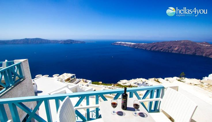 Santorini, the island of mystery, love and intense emotions.  The wild and menacing volcanic rocks meet the traditional whitewashed town of Fira which extends around the largest caldera in the world and create the most beautiful Cycladic town. Unique charm, unsurpassed beauty! Live this magic atmosphere…