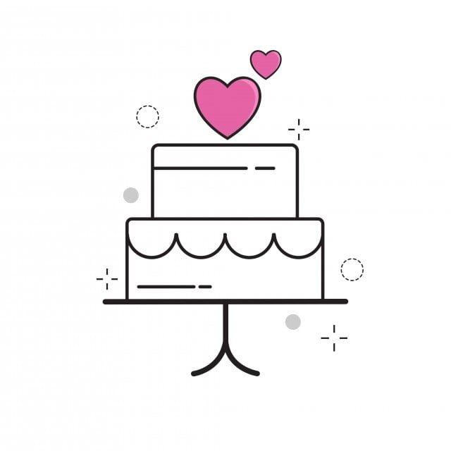 Bolo De Casamento Amor Com Contorno Cheia De Estilo Ame Bolo Coracao Imagem Png E Vetor Para Download Gratuito Icone De Casamento Desenho De Bolo Ideias Para Logotipos