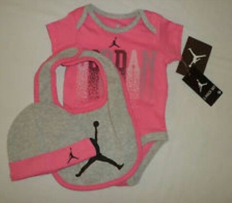 Baby Girl Jordan Clothes New 22 Best ɮaɮʏ Jօʀɖaռ's Images On Pinterest  Baby Jordans Newborn Inspiration Design