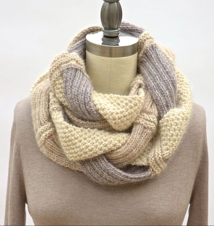 Knitting Seed Stitch Variations : Moss stitch, Stitches and Infinity scarfs on Pinterest