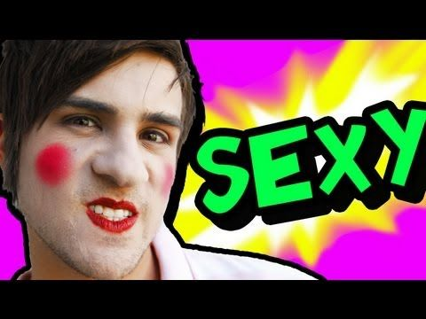 #Tee-hee: Smosh - MAKEUP FOR MEN.    Oh dear God! Lolz