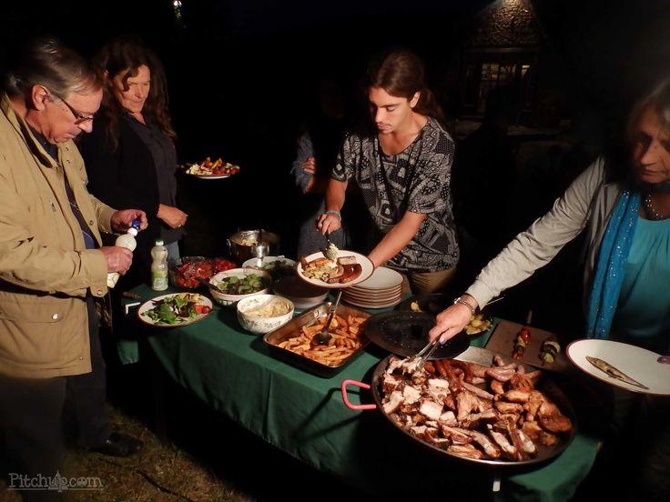 Evening barbeques at Domaine de Bourrat, Labastide Murat, Lot - Pitchup.com