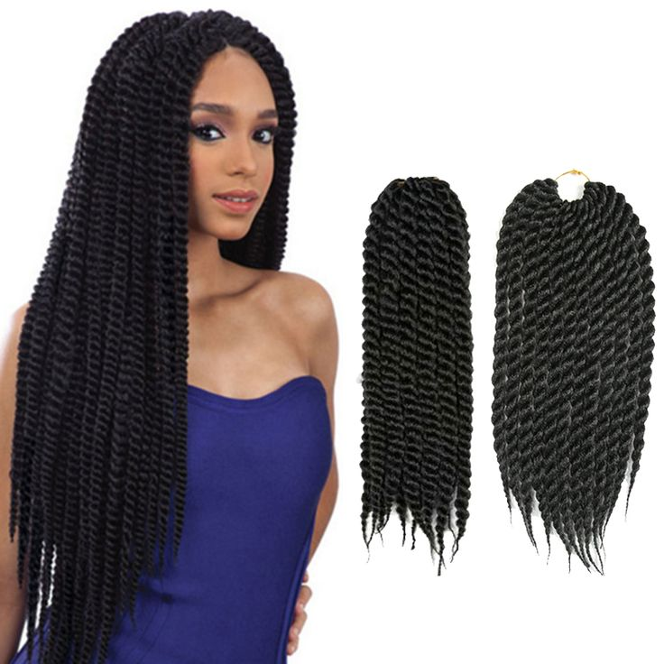 14'' Havana Mambo Crochet Twists Hair Extensions Braid Synthetic Pre-Twisted Curly Braiding Hair 2 Xpression Twist Crochet Braid