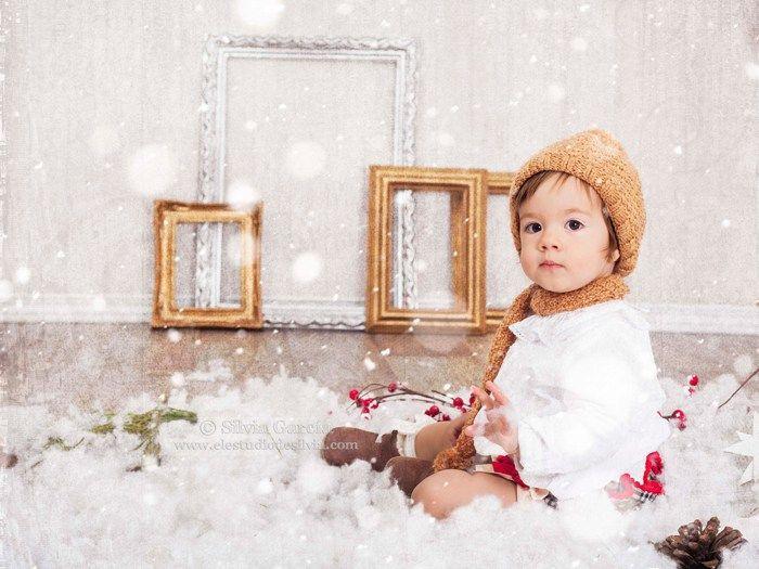 17 mejores ideas sobre fotos de navidad de ni os en for Fotos originales de bebes para hacer en casa