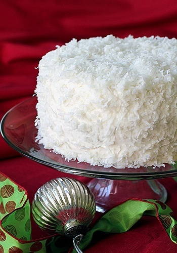 . Christmas Coconut Cake...