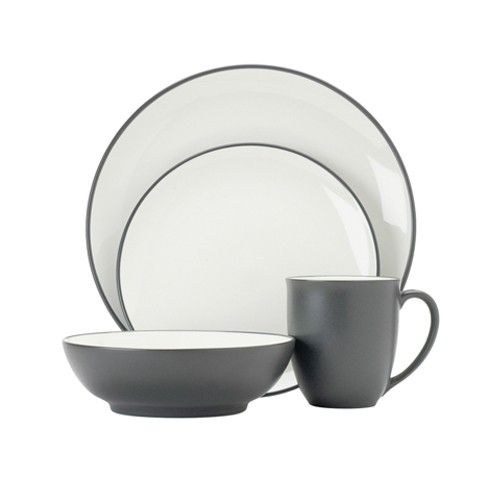 Noritake - Colorwave - 16 Pce Dinner Set - Graphite