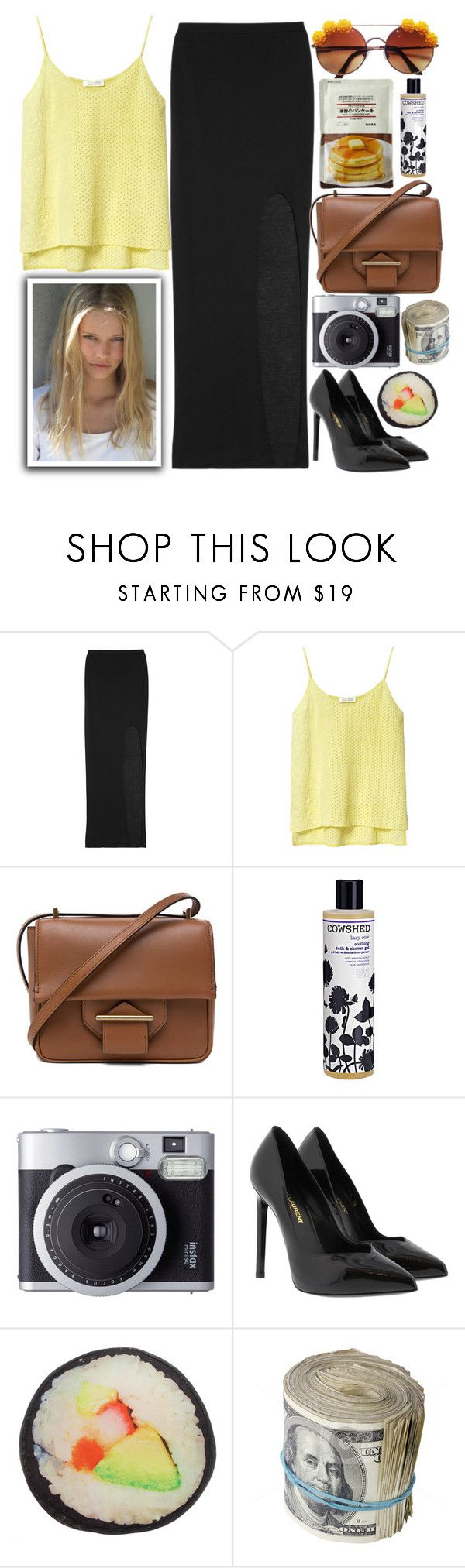 """1262"" by melanie-avni ❤ liked on Polyvore featuring Helmut Lang, Zara, Reed Krakoff, Cowshed, Fujifilm and Yves Saint Laurent"