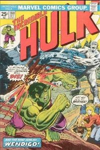 The Incredible Hulk #180 (October 1974): First (Brief) Appearance of Wolverine. Click for values
