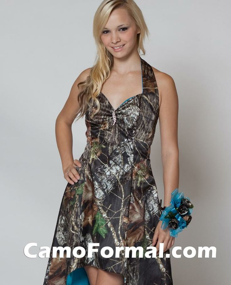 Mossy oak final touches camouflage prom wedding homecoming for Mossy oak camo wedding dress
