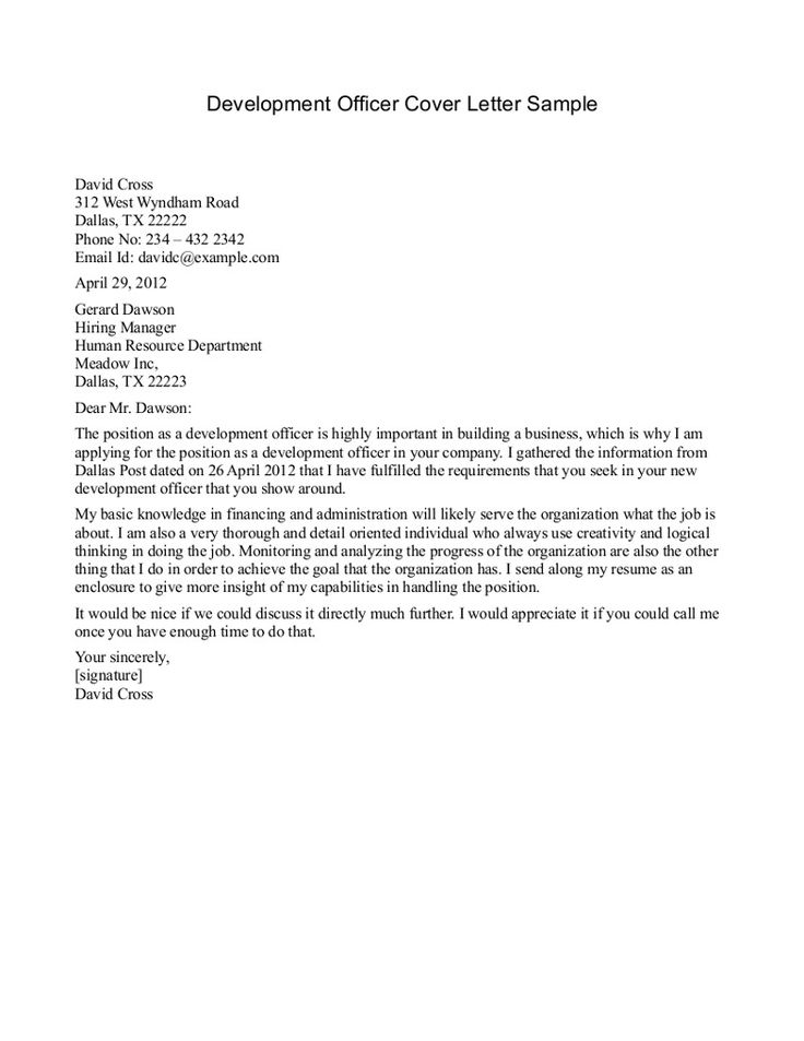 1000 Ideas About Cover Letter Sample On Pinterest
